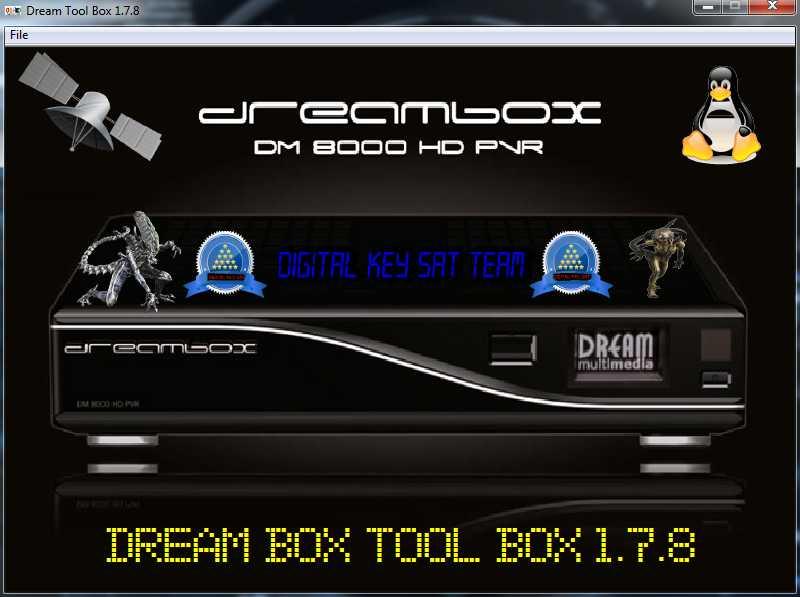 Thread: Dream Box tool Box 1.7.8